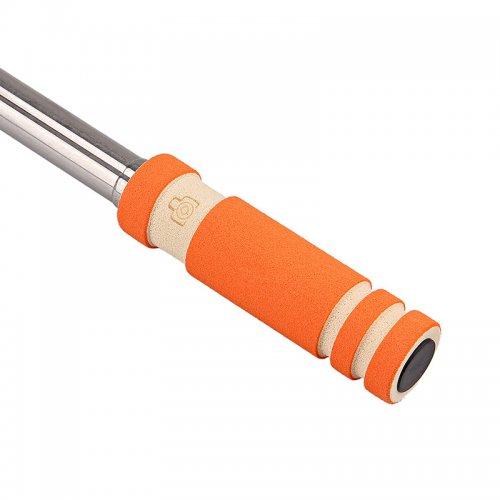 Super Mini Wired Foldable Selfie Stick Monopod - Orange