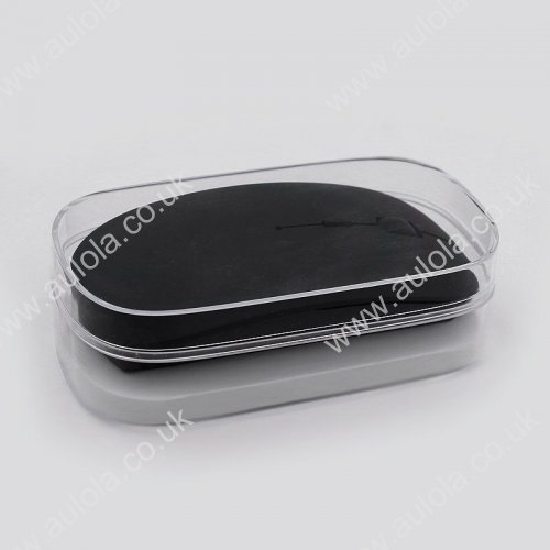 Ultra Thin 2.4G USB Wireless Mouse for PC/Laptop- Black