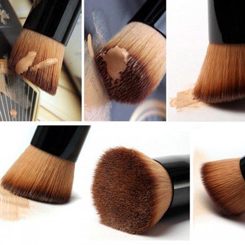 Universal Professional Flat Bevel Makeup Face Brush Cosmetic Tool