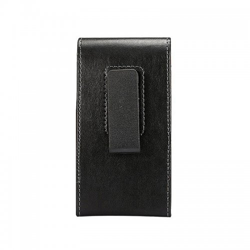 Universal 5.2 Inch Vertical Leather Rotatable Belt Clip Phone Holster Pounch Cover Case