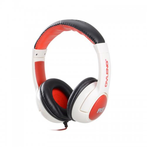 OV-A5 Dynamic Stereo Headphone with MIC - White