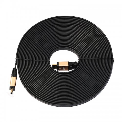 10m 4K Ultra High Speed Gold-plated Connector HDMI 2.0 Cable for HDTV - Gold