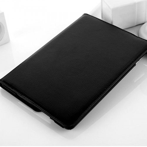 360 Rotation Case Cover for iPad Air 5/5th--Black