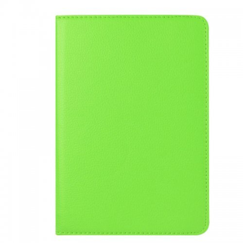 360 degree Rotating PU Leather Flip Stand Case Cover Skin for iPad Mini 1/2/3 - Green