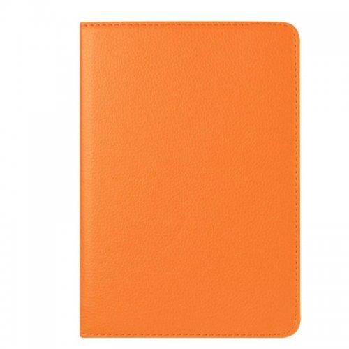 360 degree Rotating PU Leather Flip Stand Case Cover Skin for iPad Mini 1/2/3 - Orange