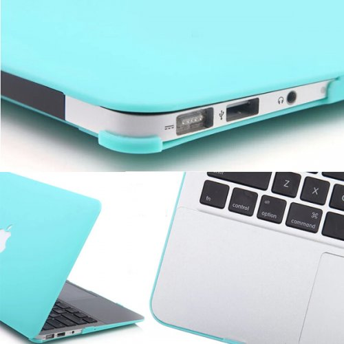 """Frost Laptop Protective Case Cover for Apple MacBook Air 13.3"""" -Green"""