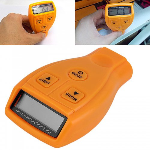 Ultrasonic Thickness Gauge Paint Digital Coating Thickness Measuring Tool