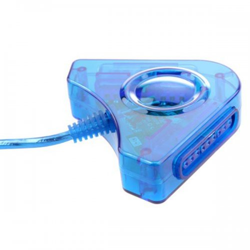Dual PS1 PS2 to PC USB Game Controller Adapter Converter