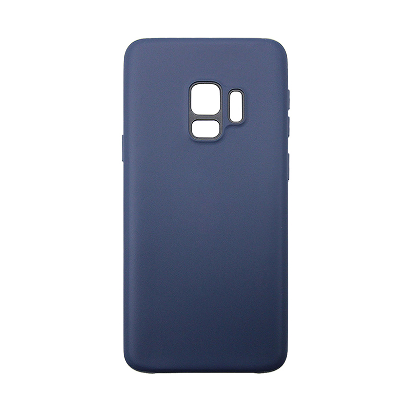 Samsung Galaxy S9 Ultra Slim Flexible Soft TPU Silicone Shockproof Case Back Cover - Navy Blue