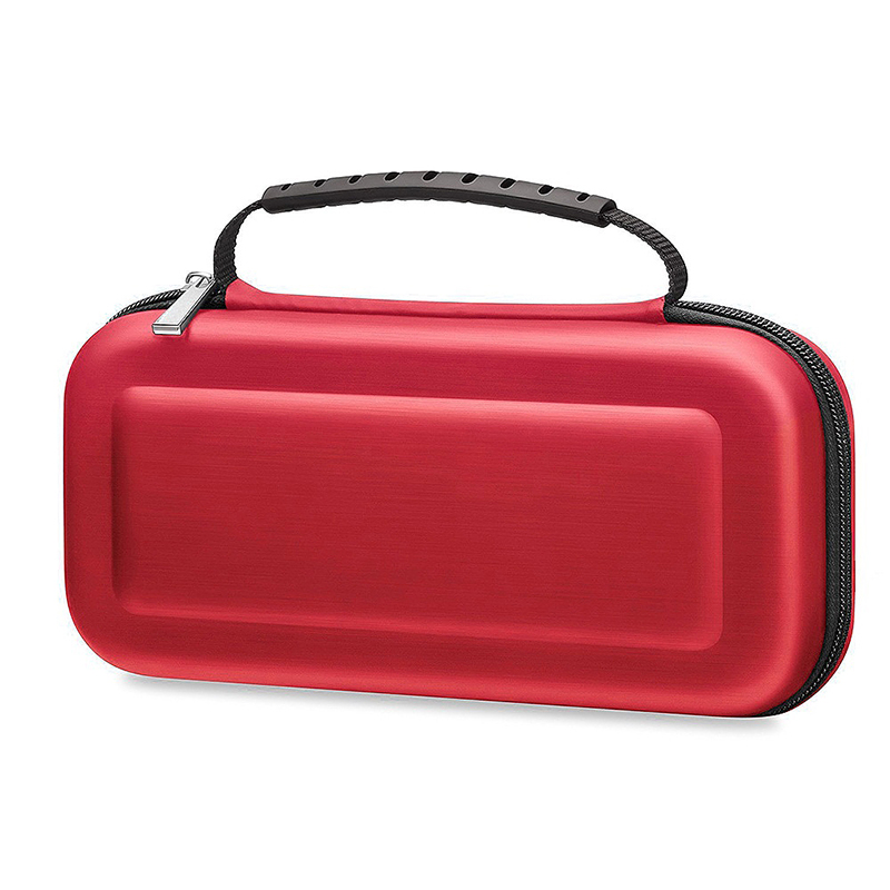 Nintendo Switch Hard Protective Storage Bag Console Game Portable Carry Case Cover - Red