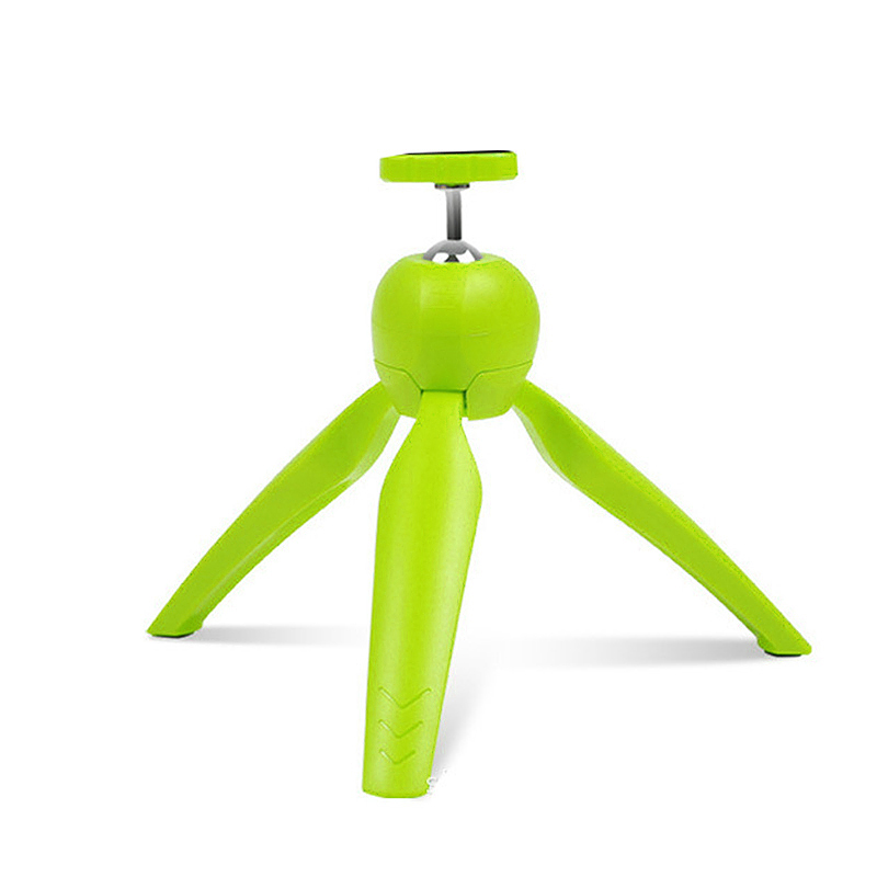 LR-268 Mini Tripod Portable Mount Stand Holder for Mobile Camera - Green