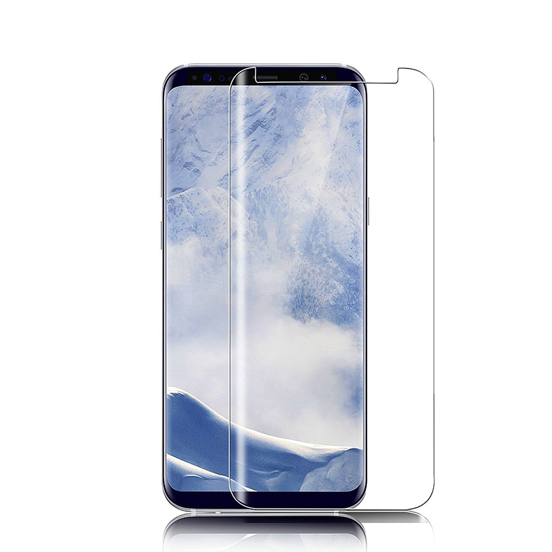 Samsung Galaxy S9 Tempered Glass 3D 9H Shockproof Screen Protector - Clear