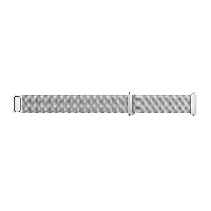 Milanese Stainless Steel Mesh Replacement Watchband Wrist Strap for Fitbit Ionic Size S - Silver