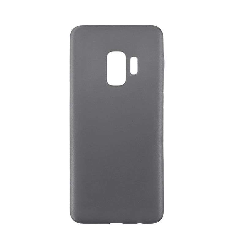 Ultra Thin Frosted PC Hard Protective Case Back Cover Shell for Samsung S9 - Black