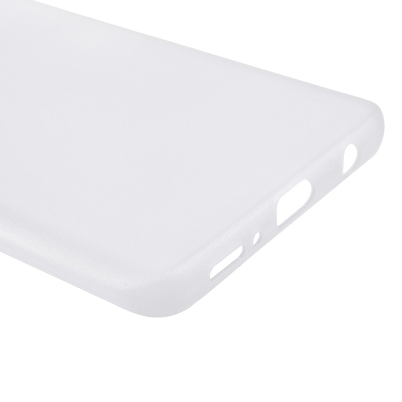 Ultra Thin Frosted PC Hard Protective Case Back Cover Shell for Samsung S9 - White