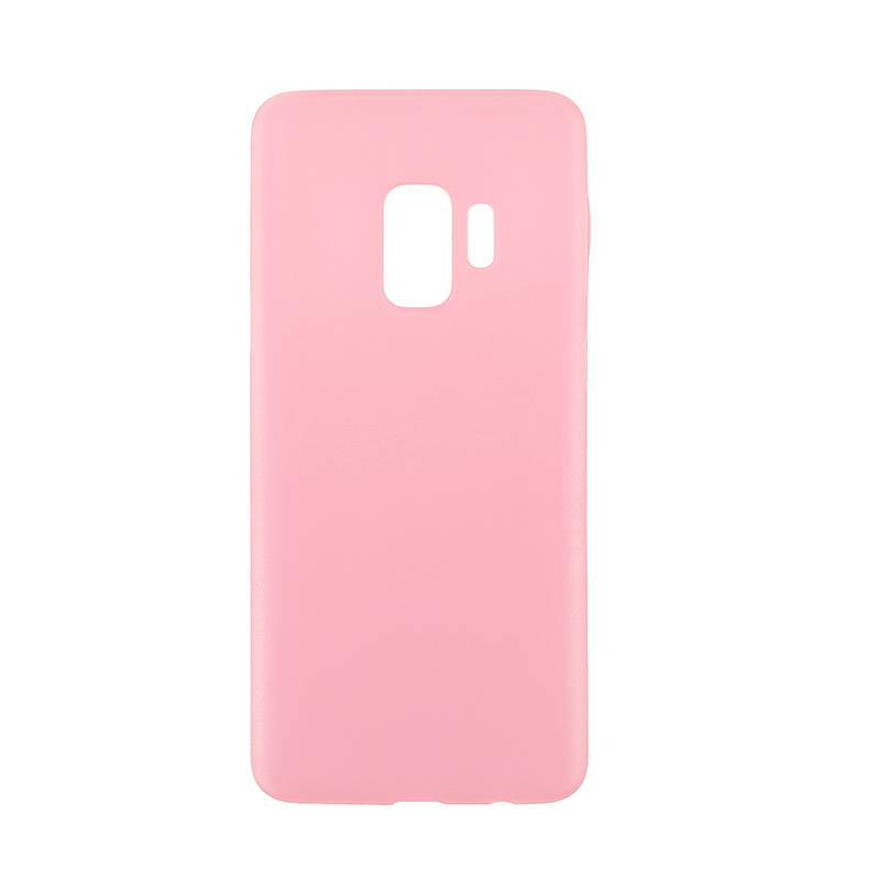 Ultra Thin Frosted PC Hard Protective Case Back Cover Shell for Samsung S9 - Pink