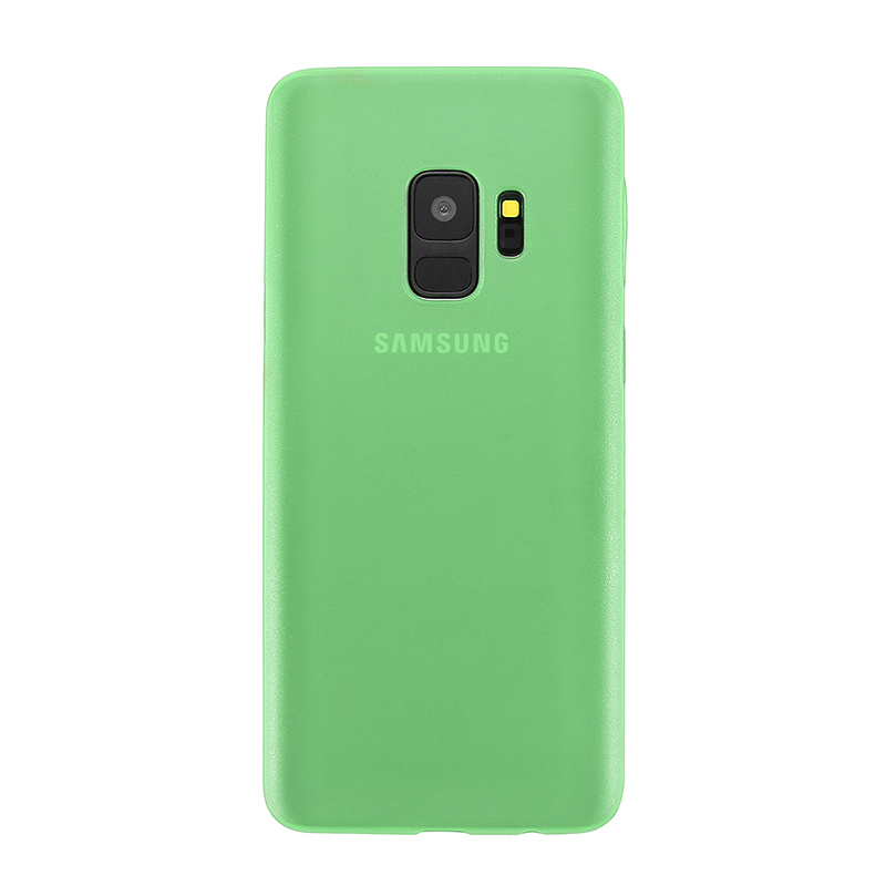 Ultra Thin Frosted PC Hard Protective Case Back Cover Shell for Samsung S9 - Green