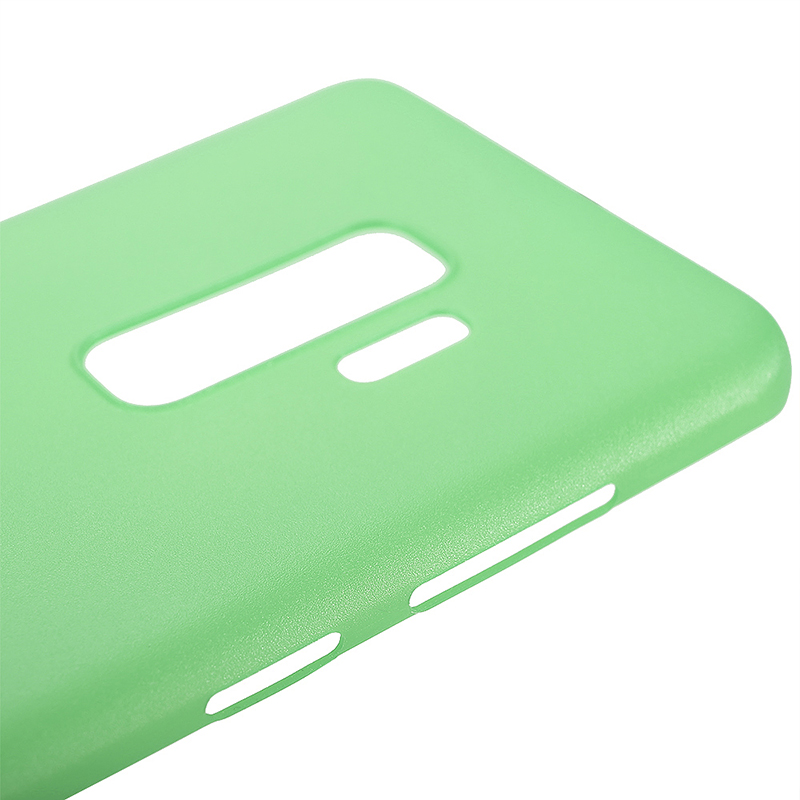 Ultra-thin Frosted Hard PC Solid Protection Case Back Cover for Samsung S9 Plus - Green