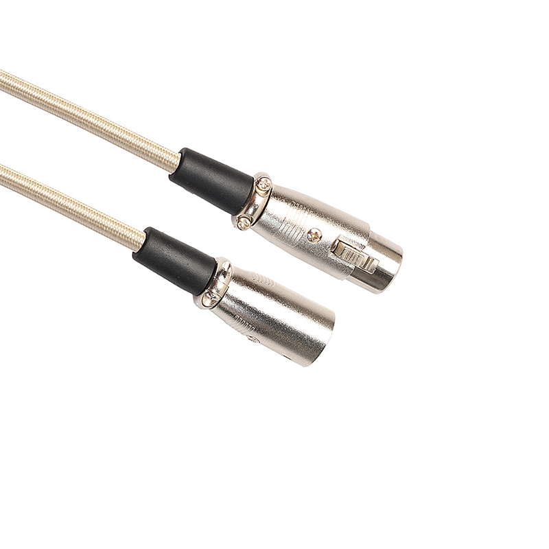 XLR 3Pin Male to Female Microphone Mic Audio Extension Cable Adapter - 1.8M