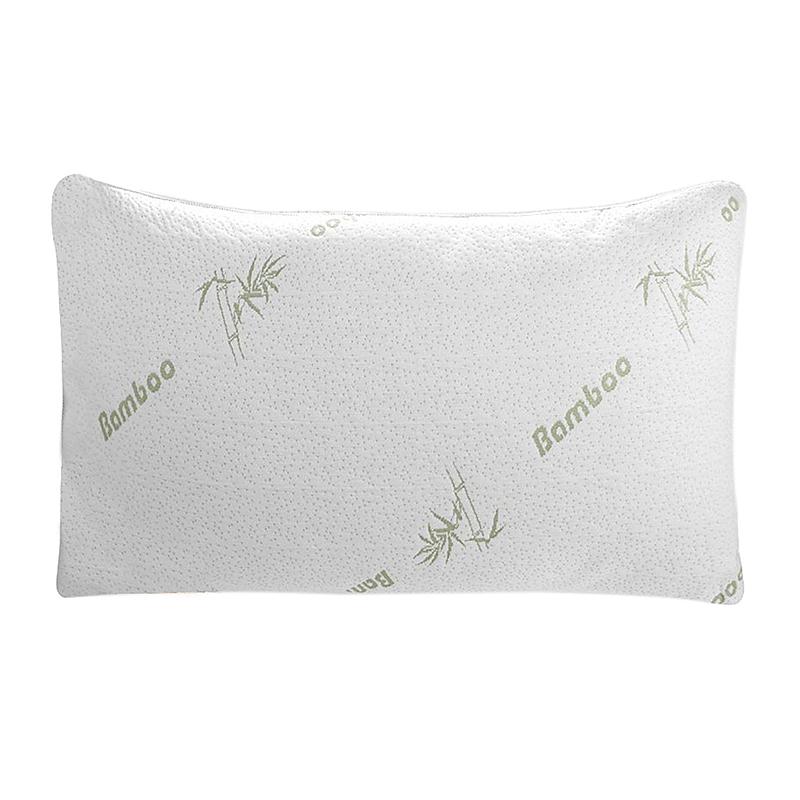 60*40CM Bamboo Fiber Memory Foam Pillow Slow Rebound Sleep Neck Care Health Keeper