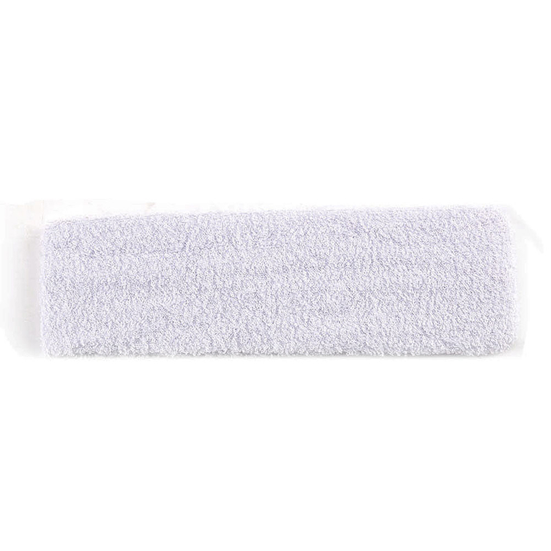 Unisex Sports Cotton Sweatband Headband Fashion Yoga Gym Stretch Hair Band - White