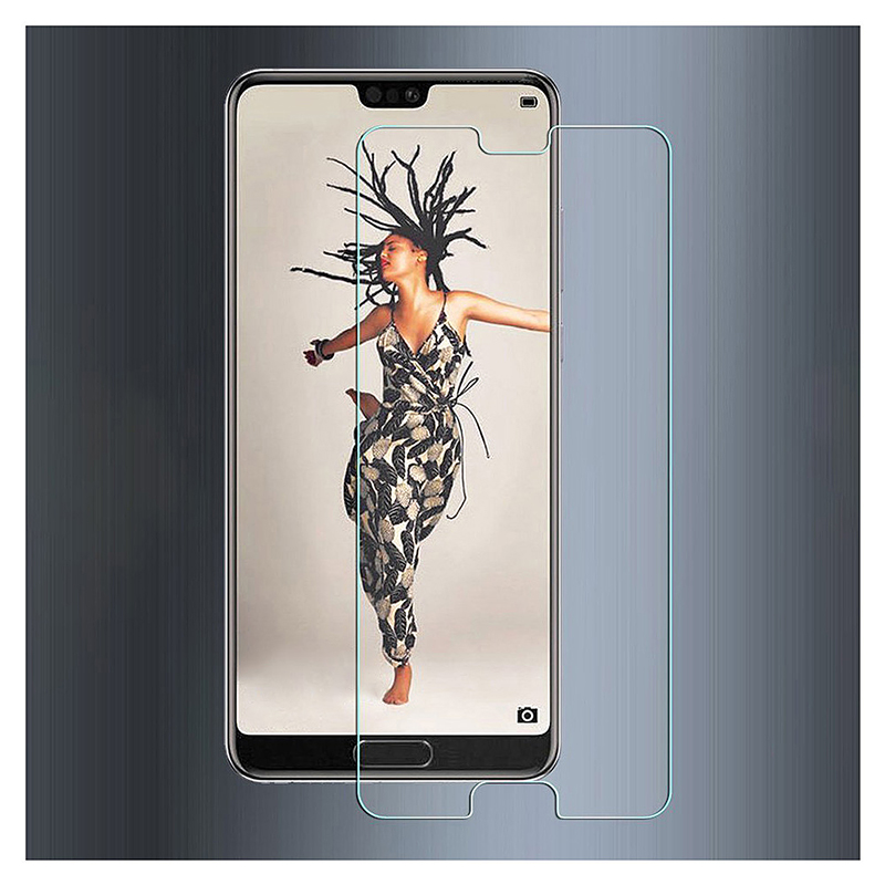9H Hardness Scratch Resistant Tempered Glass Screen Protector for Huawei P20 Pro