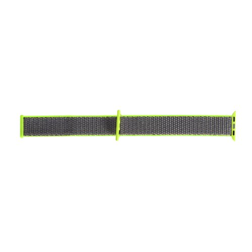 38mm Apple Watch Band Sports Loop Woven Nylon Watchband Strap for iWatch Series 3/2/1 - Green
