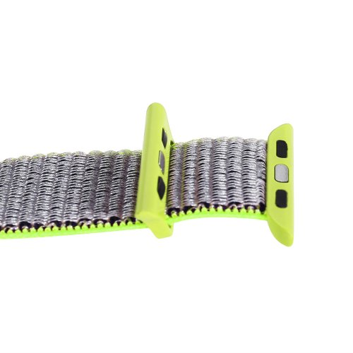 42mm Sports Nylon Wrist Band Watchband Strap Bracelet for Apple Watch - Green