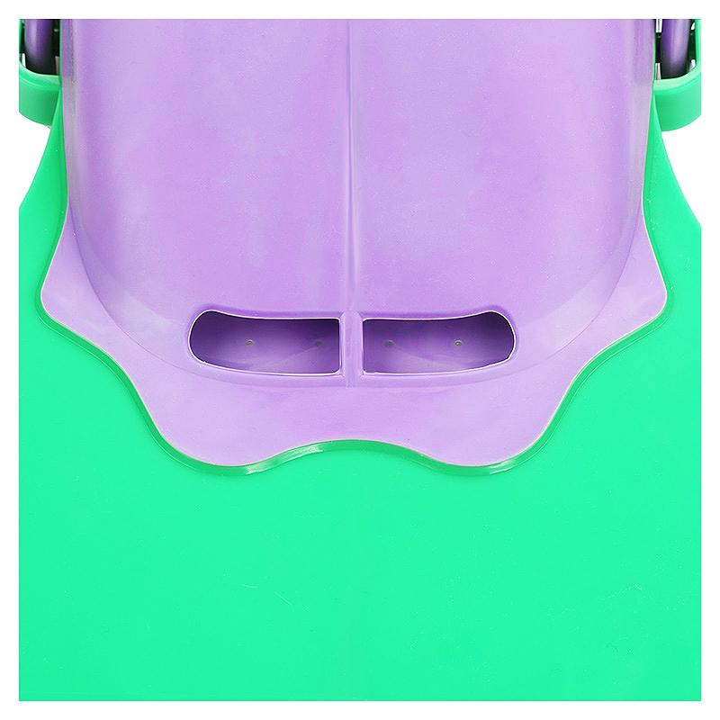Mermaid Tails Swim Fin Adjustable Monofin Diving Swimming Foot Flipper for Kids Children - Green