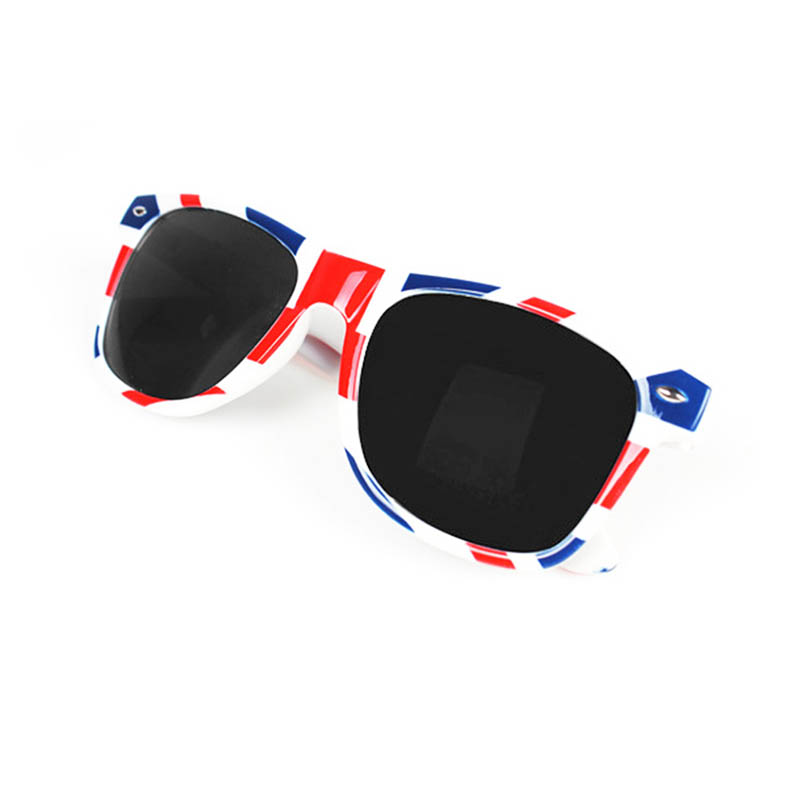 Vintage UK British Flag Sunglasses Unisex Square Clearance Eyewear Glasses