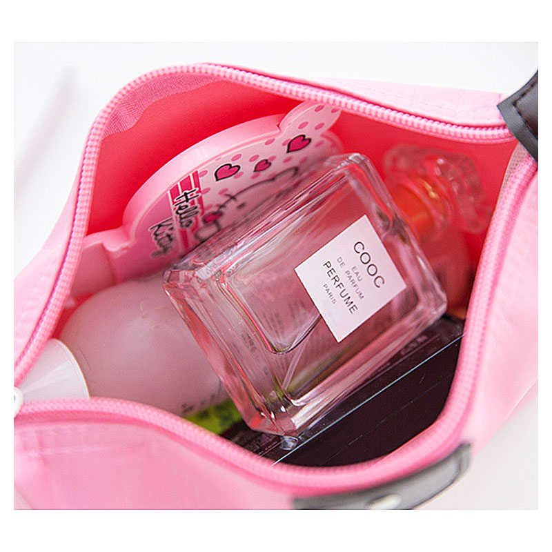 Large Waterproof Travel Wash Toiletry Bag Makeup Cosmetic Organizer Storage Pouch - Pink