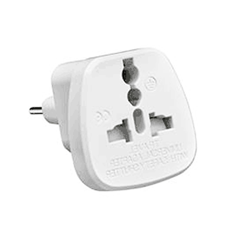 EU Plug Adapter Portable Universal Power Charger Converter for Travel