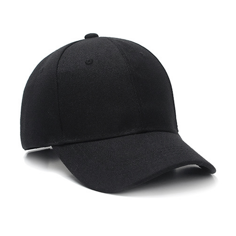 Funky Hip Hop Baseball Cap Unisex Retro Vintage Classic Running Golf Sports Sun Hats - Black