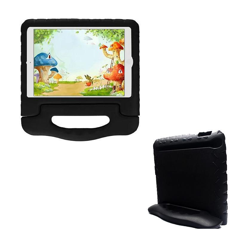 Shockproof EVA Foam Handle Stand Case Cover for Apple iPad 2/3/4 - Black