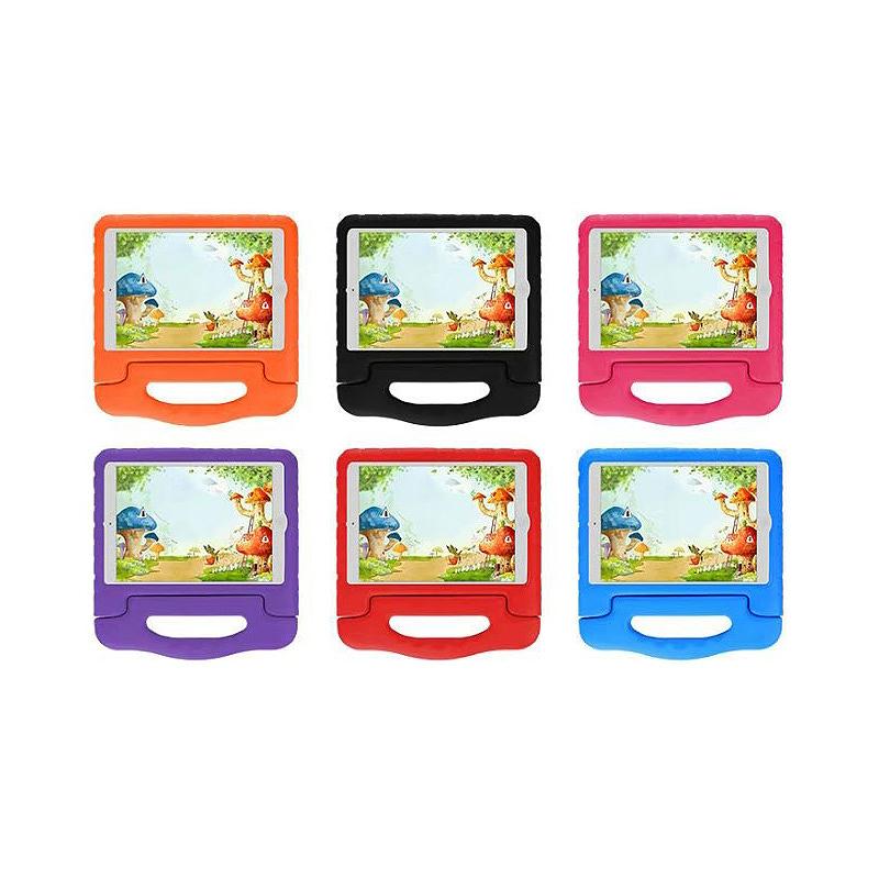 Kids Shockproof EVA Foam Stand Case Cover for Apple iPad Mini 1/2/3 - Purple