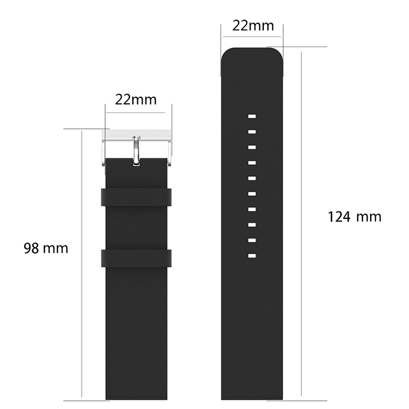 Vintage PU Leather Replacement Watchband Adjustable Watch Wrist Strap for Fitbit Versa - Black