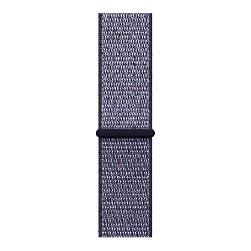 Fitbit Versa Nylon Woven Braided Watch Band Breathable Sports Replacement Wrist Strap - Blue