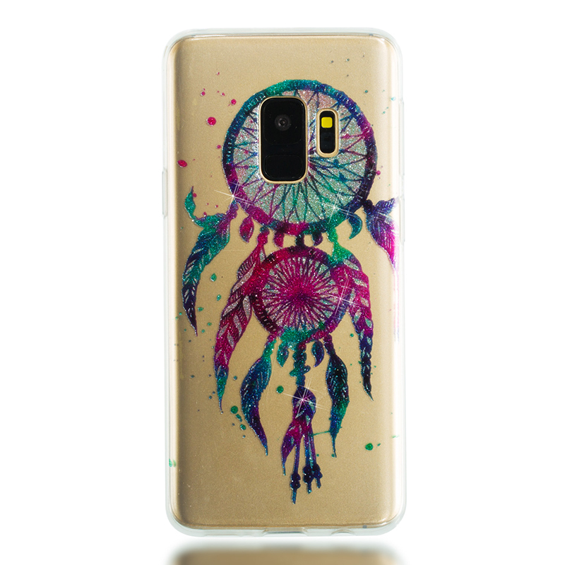 Ultra Thin Bling Glitter Cover Slim TPU Case for Samsung Galaxy S9 - Dreamcatcher