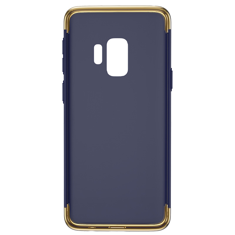 Ultra-Thin Slim 3in1 Luxury Hard PC Protective Case Back Cover for Samsung S9 - Blue
