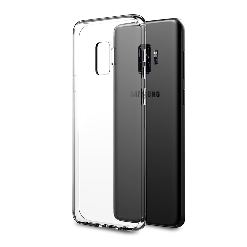 Samsung Galaxy S9 Crystal Clear Phone Cover Soft Gel TPU Bumper Case