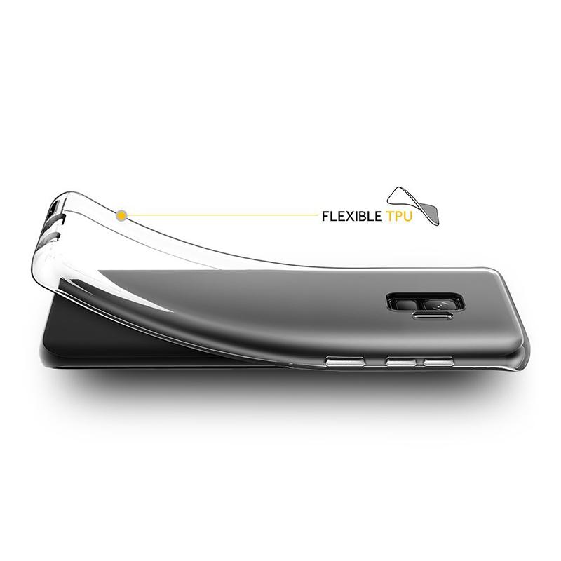 Samsung Galaxy S9 Crystal Clear Phone Cover Soft Gel TPU Bumper Case