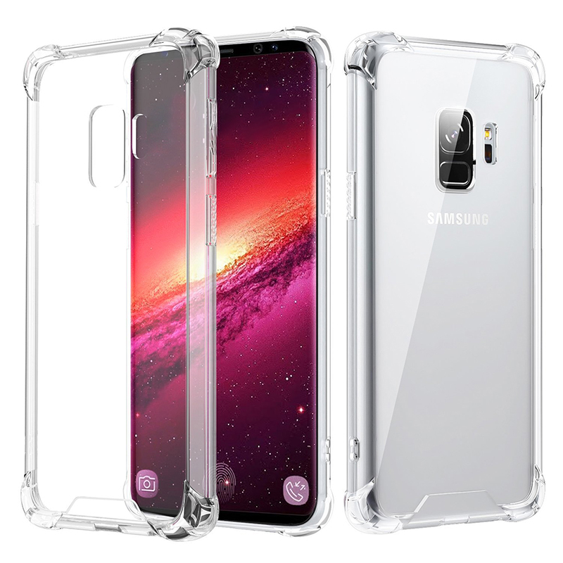Transparent Clear Gel TPU Shockproof Bumper Case Samsung Galaxy S9