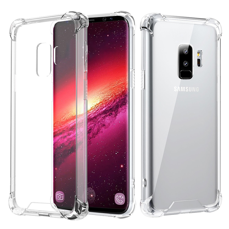 TPU Case Shockproof Full Protector Cover for Samsung Galaxy S9 Plus