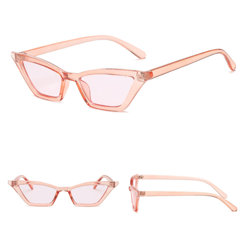 Women's Retro Cat Eye Sunglasses Outdoor Sunglasses Eyewear - Pink