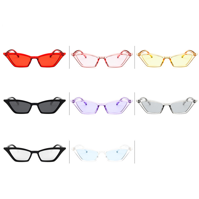 Women's Retro Cat Eye Sunglasses Outdoor Sunglasses Eyewear - Purple