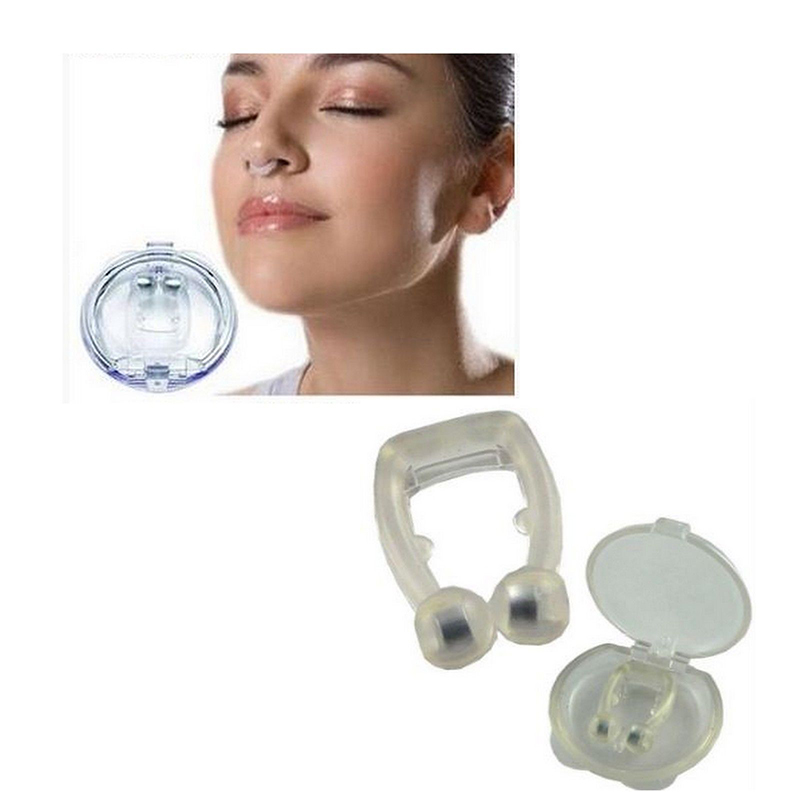 Anti Snore Nose Clip Stop Snoring Tools Silicone Sleep Aid Snore Stopper