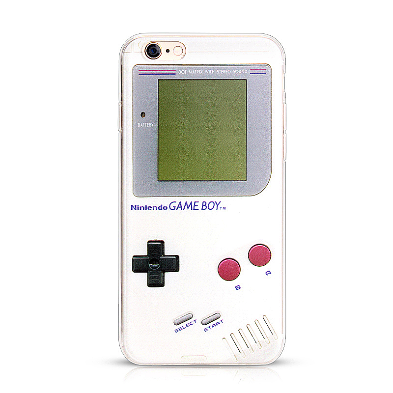 Retro Game Console Printed TPU Phone Cover Case for iPhone 7/8