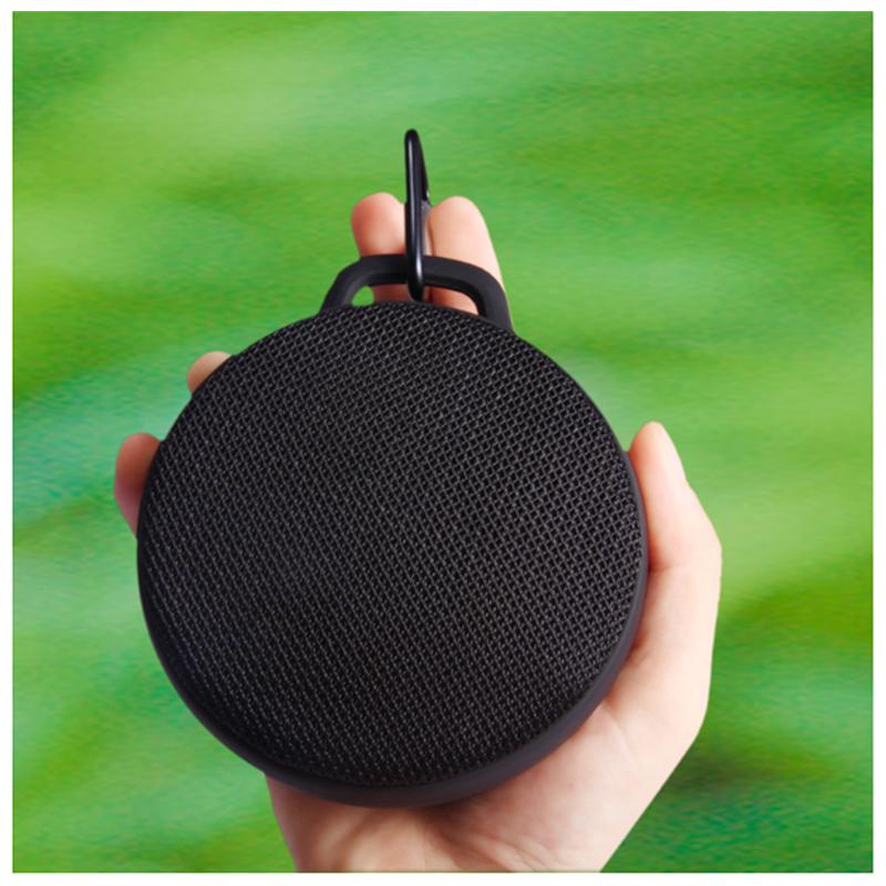 X7 Waterproof Shower Bluetooth Speaker Portable Wireless Outdoor Stereo Music Box - Black