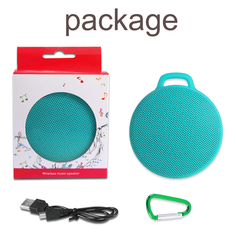 X7 Waterproof Shower Bluetooth Speaker Portable Wireless Outdoor Stereo Music Box - Green