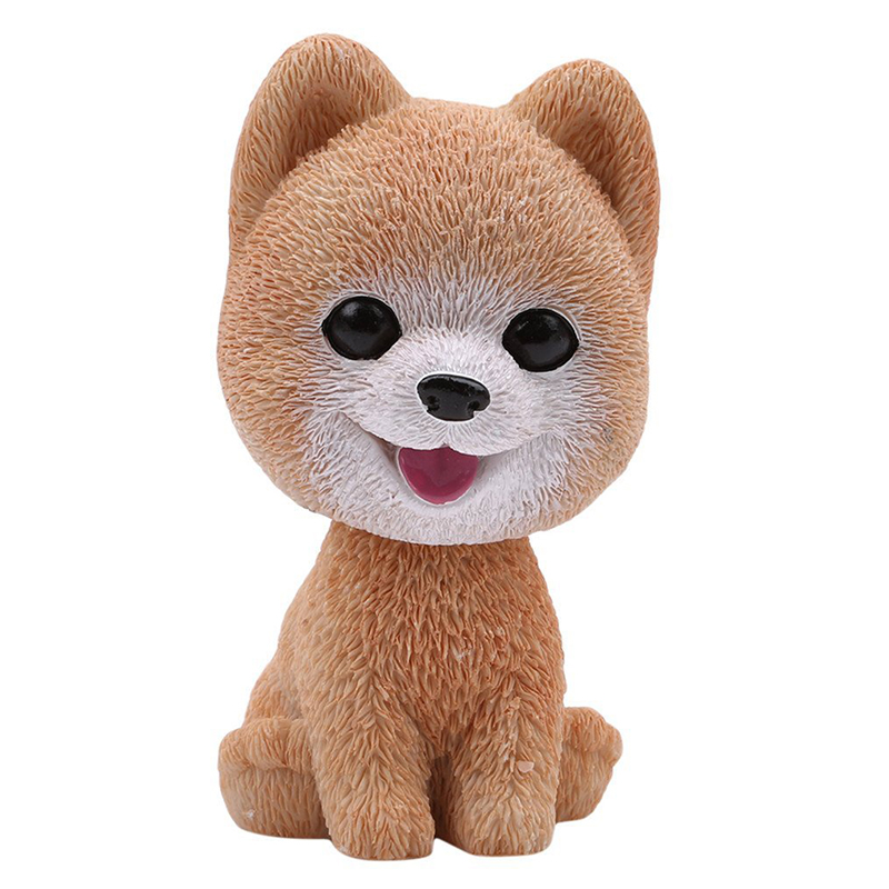Baby Toys Cute Simulation Shaking Head Dog Puppy Toy Car Decoration Ornaments - Bomei
